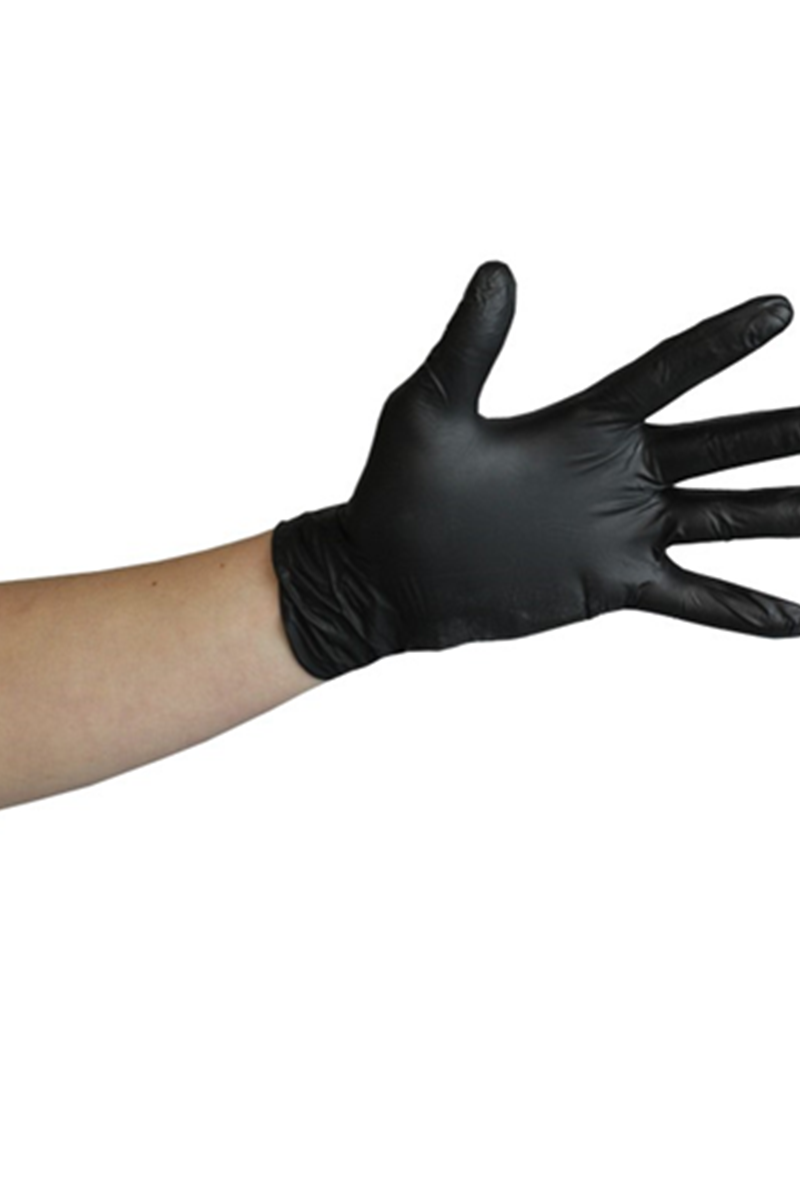 Nitrile Gloves Powder Free - Black - LIMITED QUANTITIES